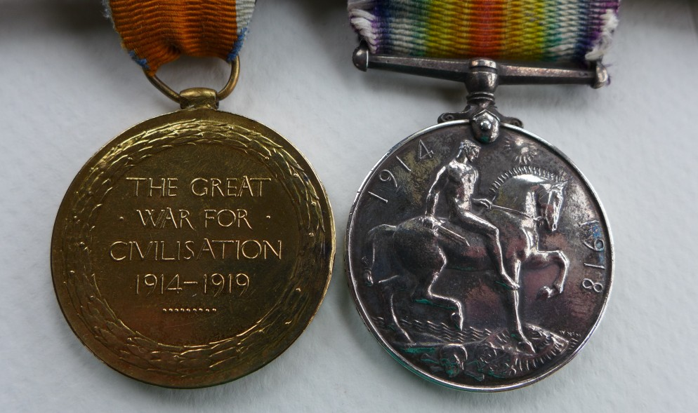Pa Georges' Medals