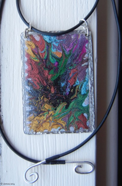 Toothpick Painting Pendant