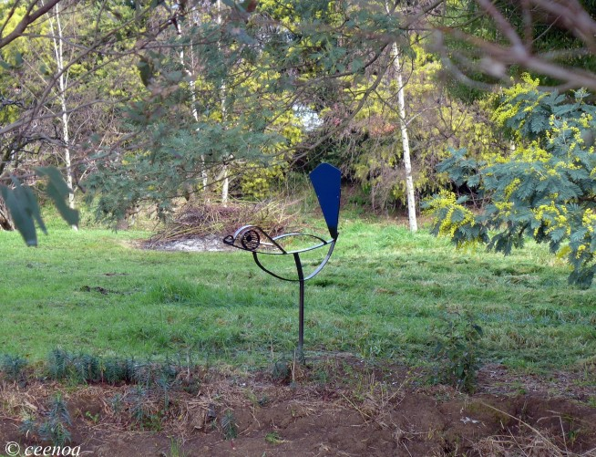 Blue Wren Sculpture