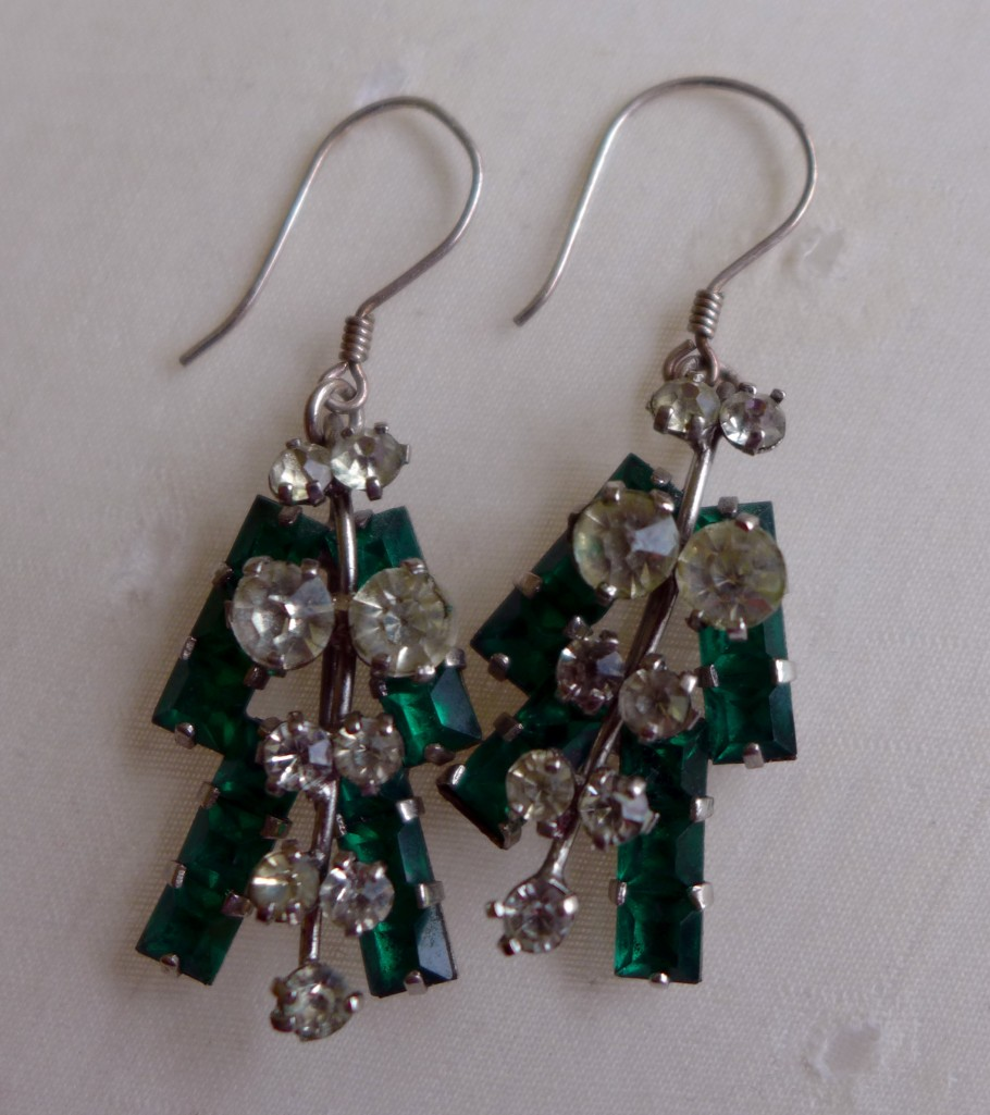 Mum's Engagement Earrings