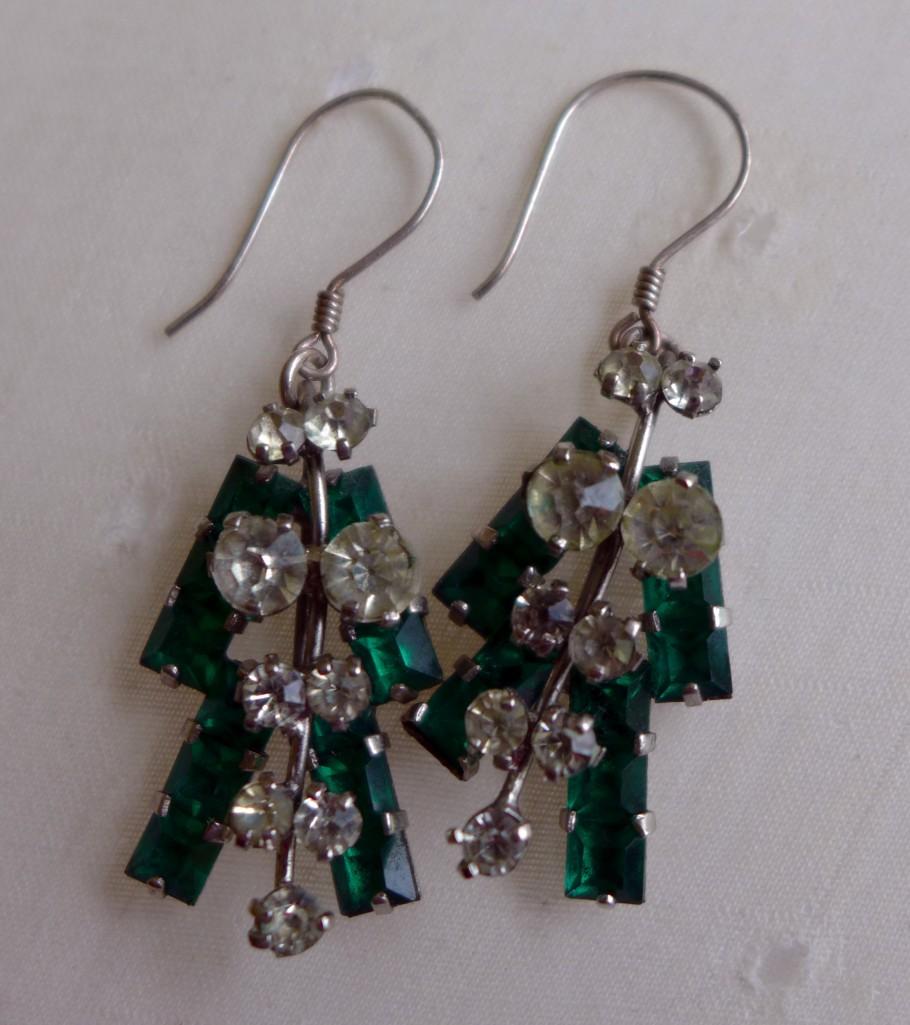 Mum's Engagement Earrings