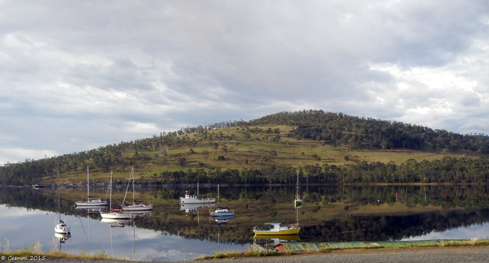 Still Water Port Huon, Tasmania