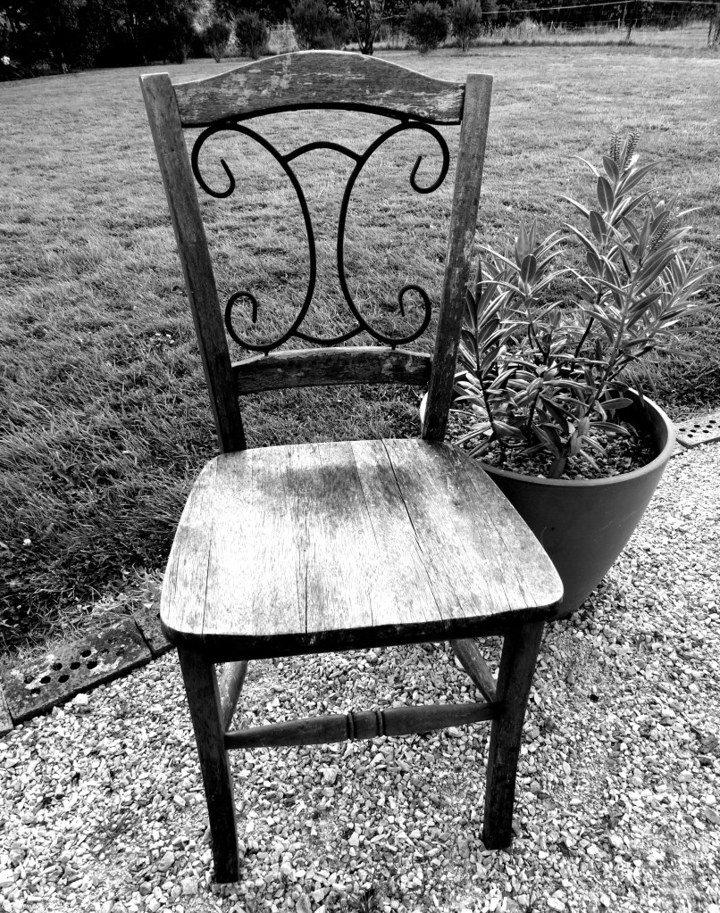 Chair & Lavendar