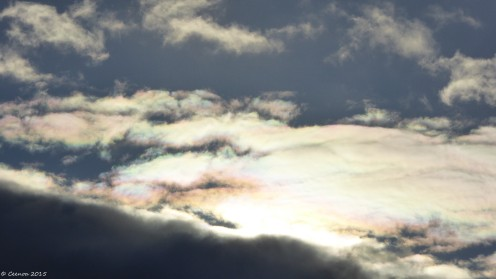 One Weird Coloured Cloud
