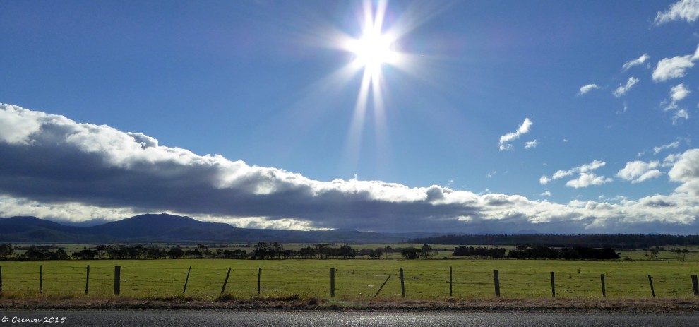 Near Fingal, Tasmania