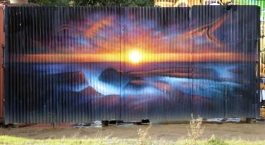 Geeveston Murals (1)