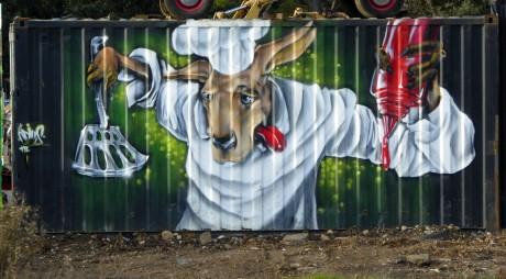 Geeveston Murals (2)