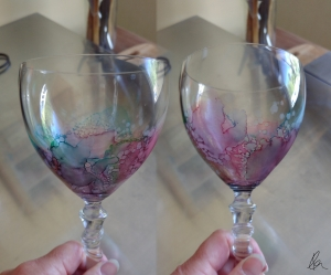 Wine Glass 1 - stitched