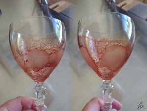 Wine Glass 2 - stitched