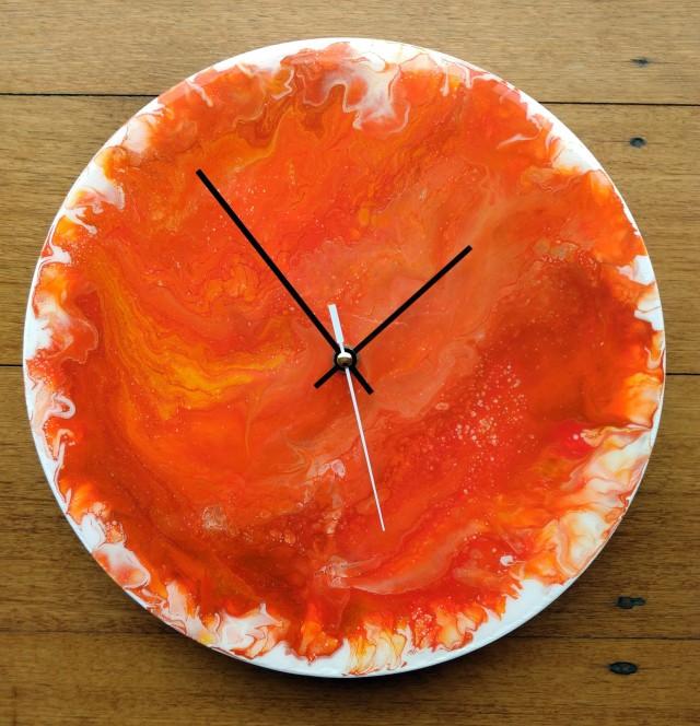 Painting #127b - Mums' Clock (2)