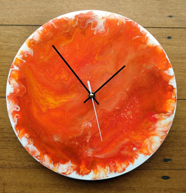 Painting #127b - Mums' Clock (2)