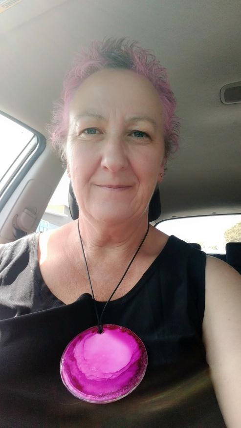 Pink Hair Me