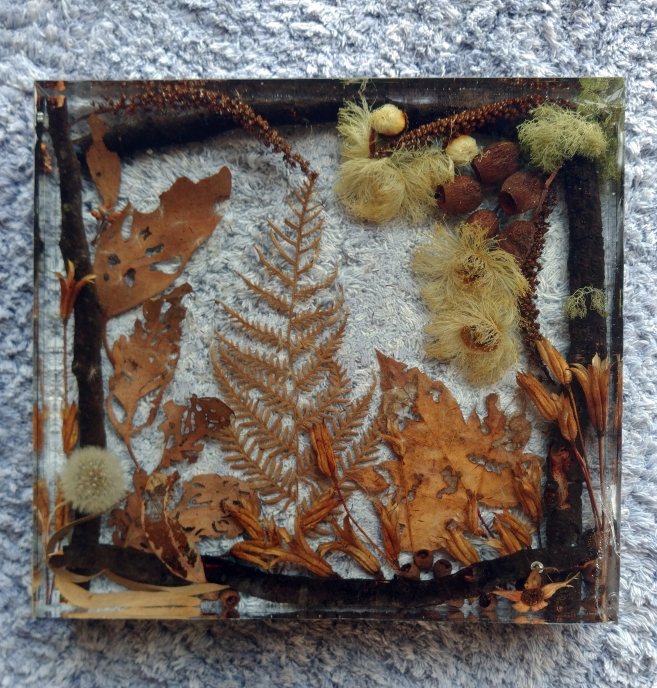 """Autumn"" - Botanics & Resin"